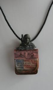 Military Hero Pendant