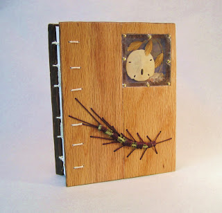 Wood Book Cover